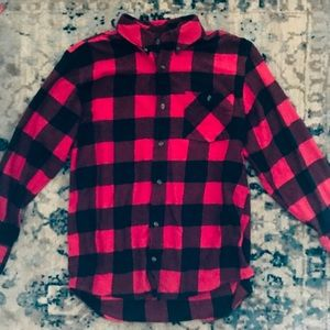 Red Buffalo Plaid Button-down Shirt